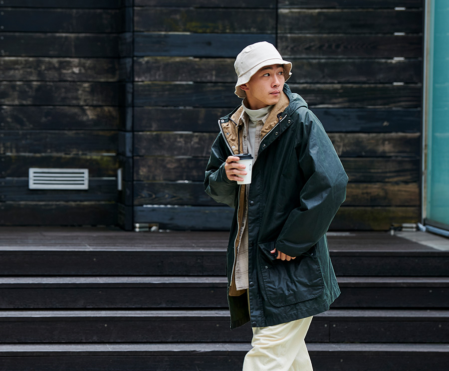 「Barbour × URBAN RESEARCH DOORS」<br>都会(まち)とバブアー。