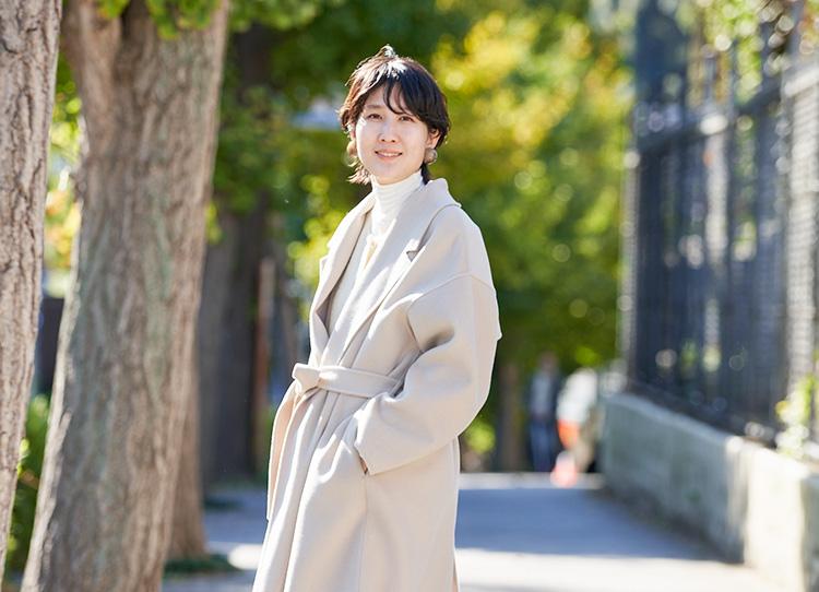 スタイリスト高橋美帆さんが着こなす都会になじむSOREL スタイリング