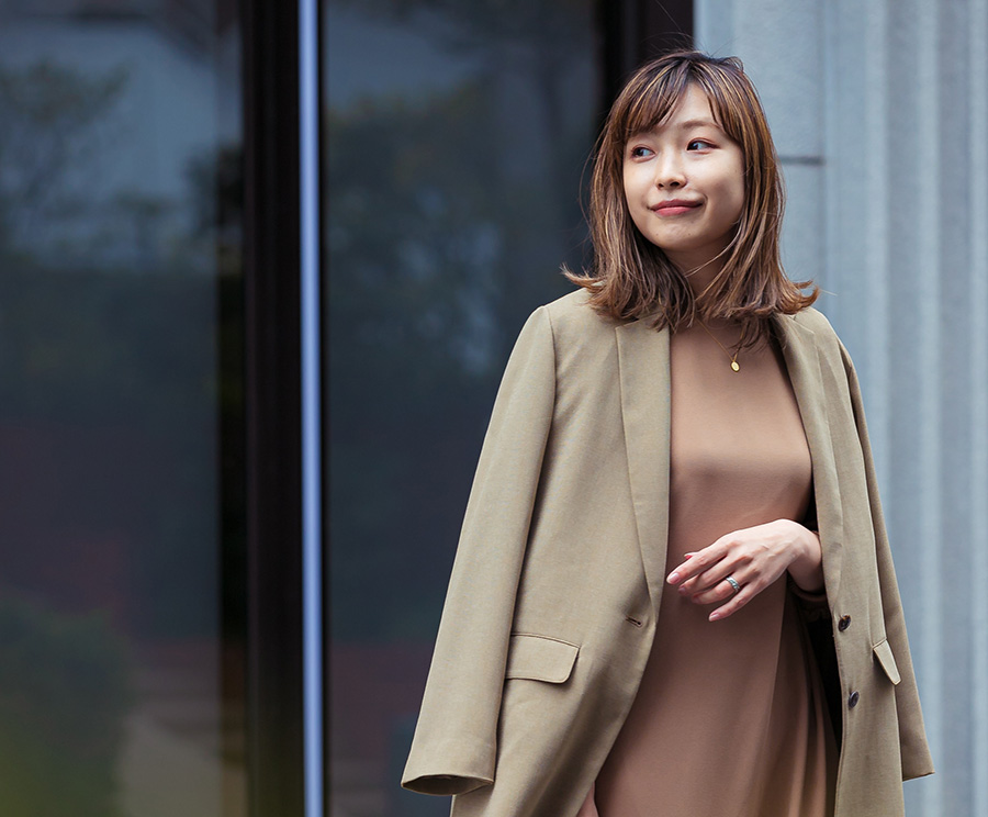 """F by ROSSOの""""母業と仕事を両立させる服""""で4月の着回しコーデ計画"""